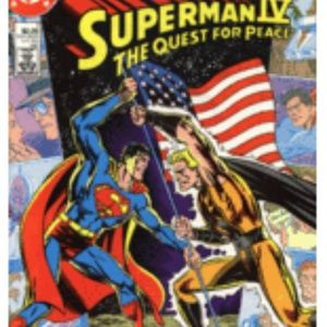 Superman IV The Quest For Peace 1987 Comic Book